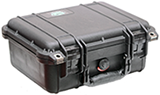 Hard Carrying Case for GSCI systems. Rugged and Durable to protect its contents from being damaged during transportation. Foam interior.