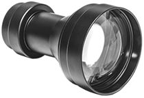 5x Afocal Lens SL-5. Quick-swap lens to enable longer-range viewing with compatible GSCI systems.